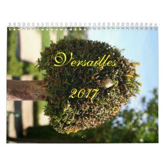 Calendário 2017 de Versalhes