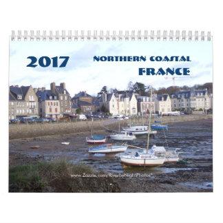Calendário 2017 France litoral