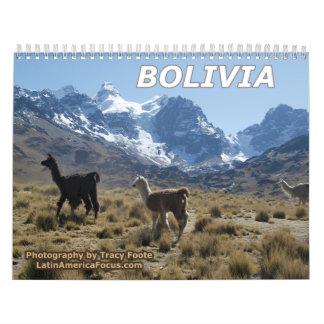 Calendário 2018 de Bolívia - calendário da