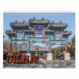 Calendário 2018 de China - calendário chinês