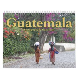 Calendário 2018 de Guatemala