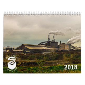 Calendário 2018 do cenário de JBPhotography