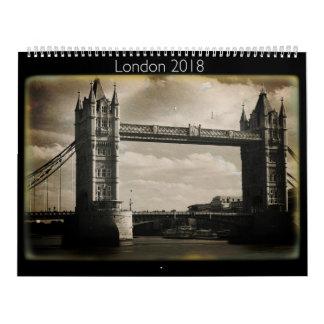 Calendário 2018 do Daguerreotype de Londres