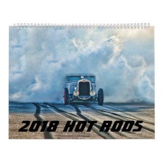 calendário 2018 do hot rod