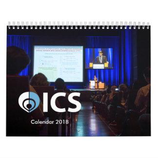 Calendário 2018 do ICS