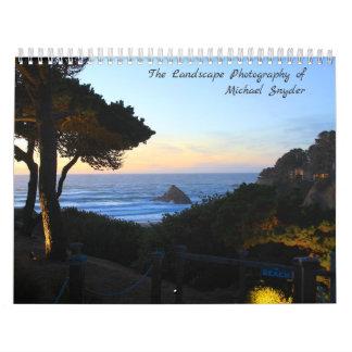 Calendário A fotografia da paisagem de Michael Snyder