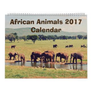 Calendário africano dos animais