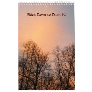 Calendário - alvorecer dos céus ao crepúsculo #2