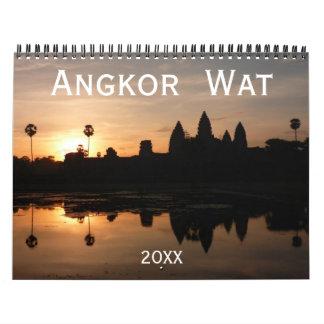 Calendário Angkor Wat 2018