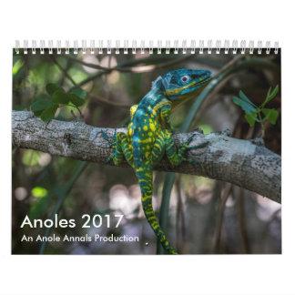 Calendário Anoles 2017 - Uma produção dos anais de Anole