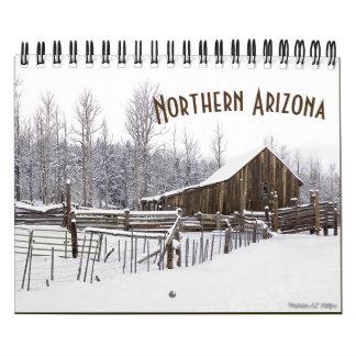 Calendário Arizona do norte nas fotografias