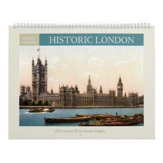 Calendário Arquitecturas da cidade históricas 2018 de Londres