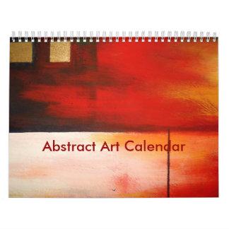 Calendário Arte abstracta 2018