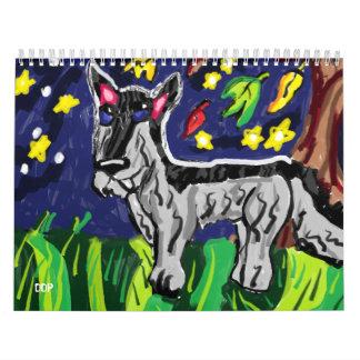 Calendário artes do lobo