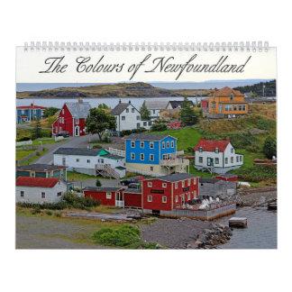 Calendário As cores de Terra Nova