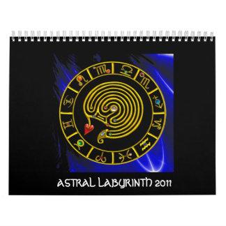 Calendário Astrologia ASTRAL da CARTA do ZODÍACO do OURO do