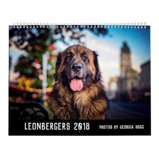 Calendário Australiano Leonbergers