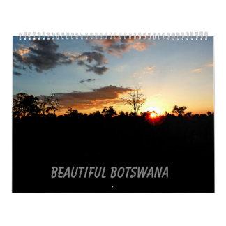CALENDÁRIO BONITO DE BOTSWANA