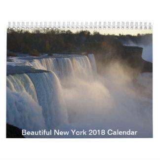 Calendário bonito de New York 2018
