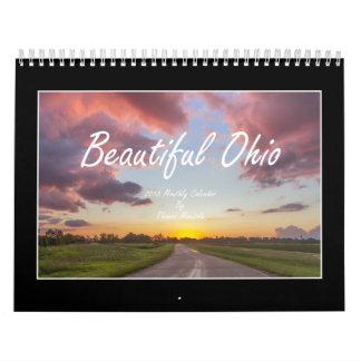 Calendário bonito de Ohio 2018 por Thomas Minutolo
