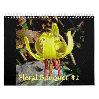Calendário - buquê floral #2