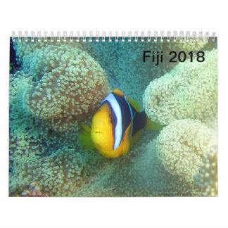 Calendário CalendarFiji 2018