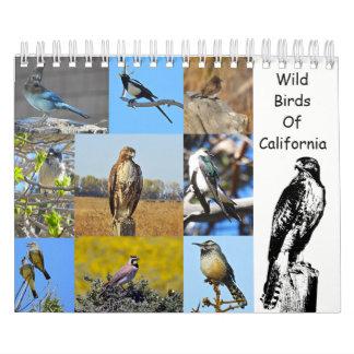 Calendário Calendário, animais selvagens, pássaros selvagens