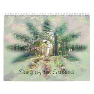 Calendário - canção das estações