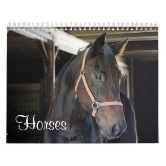 Calendário Cavalos