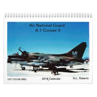 Calendário Corsário da guarda nacional A-7 do ar II