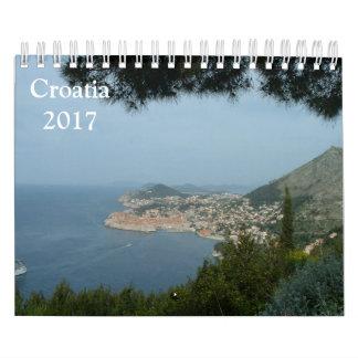Calendário Croatia 2017