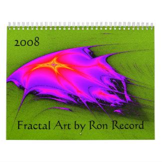 Calendário da arte do Fractal