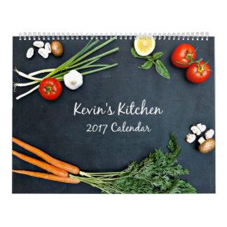 Calendário da cozinha 2017 de Kevin