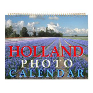 Calendário da foto de Holland
