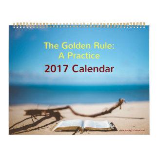 Calendário da regra de ouro 2017