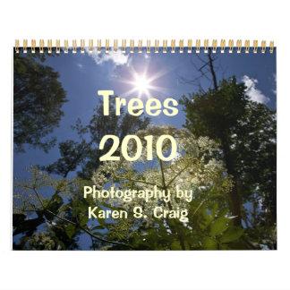 Calendário das árvores 2010