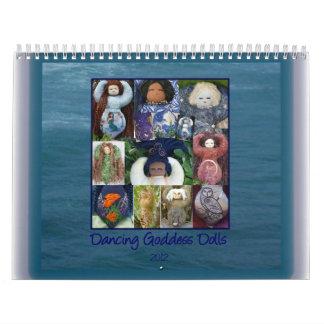 Calendário das bonecas da deusa da dança