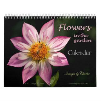 Calendário de 2018 flores (ou selecione qualquer