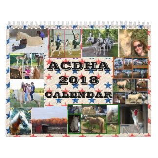 Calendário de ACDHA 2018