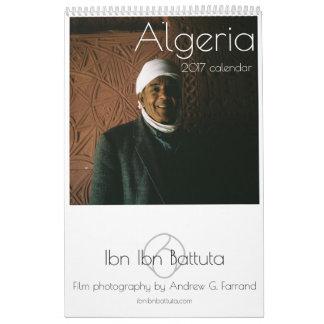 Calendário de ARGÉLIA 2017 por Ibn Ibn Battuta