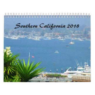 Calendário de Califórnia do sul SOCAL 2018