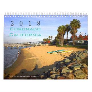 Calendário de Coronado CA, 12 fotos originais