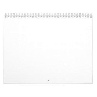 """Calendário de duas páginas, padrão, 11"""" x17 """""""