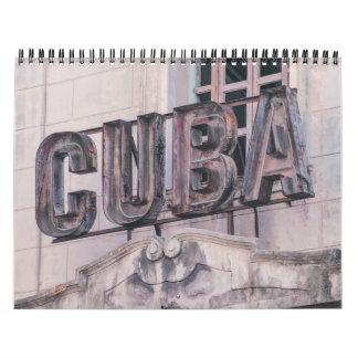 Calendário de Havana, Cuba 2017