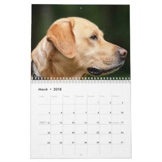 Calendário de Labrador