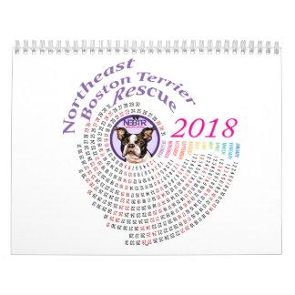 Calendário de NEBTR 2018