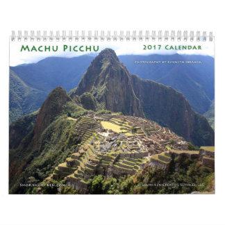 Calendário de parede de Machu Picchu