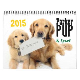 Calendário de ParkerPup & de Reser 2015