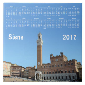 Calendário de Siena, Italia 2017