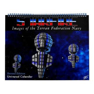 Calendário de Starfire: Marinho da federação de